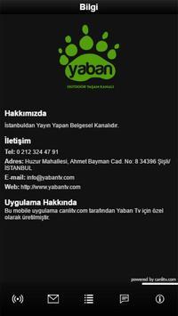 Yaban Tv screenshot 3