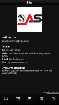 As Tv apk screenshot