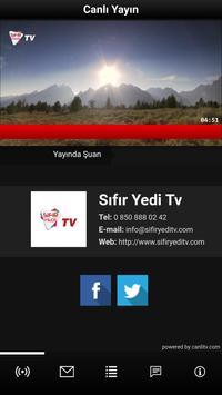 Sıfır Yedi Tv screenshot 1
