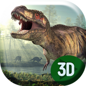 T-Rex Dinosaur Live Wallpaper icon