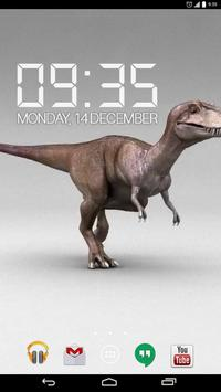 T-Rex Dinosaur Live Wallpaper apk screenshot