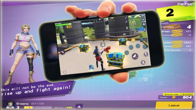 Fortcraft Free Tips for the battle Game Guide apk screenshot