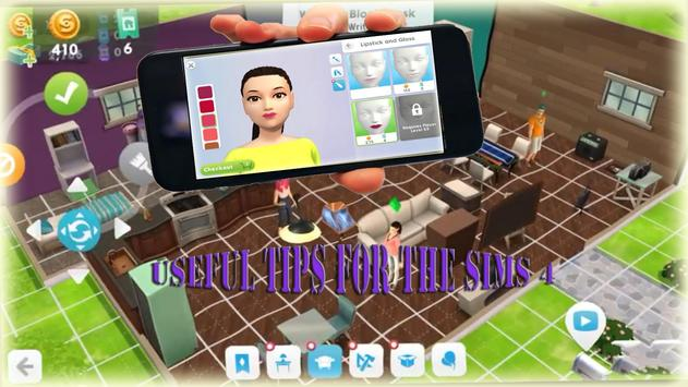 New tips for the Sims4 apk screenshot