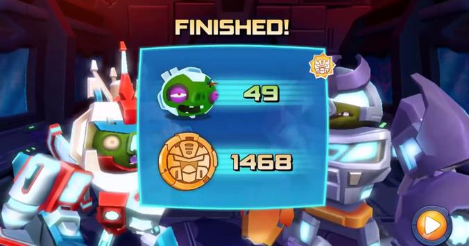 New Angry Birds Transformers Tricks स्क्रीनशॉट 3