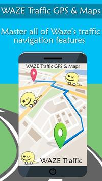 Guide Waze - GPS  Navigation & Maps poster