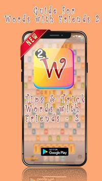 Guide for Words with Friends poster