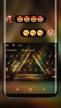 Triangle corners Keyboard Theme poster