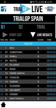 TRIALGP Live screenshot 2