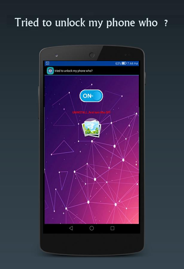 Tried To Unlock my phone who ? Free for Android - APK Download