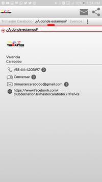 Trimaster Carabobo apk screenshot