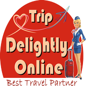 Book Air Ticket Trip Delightly icon
