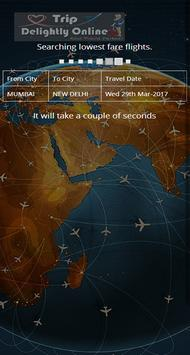 Book Air Ticket Trip Delightly apk screenshot