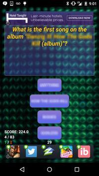 Trivia of Falco Songs Quiz screenshot 6