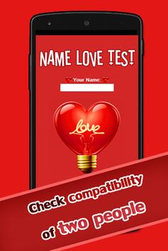 Name Love Test poster
