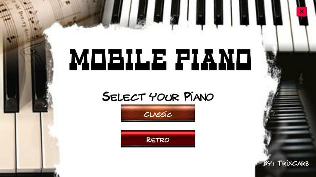 Mobile Piano poster