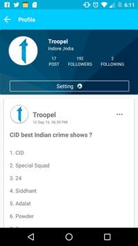 Troopel - Social Discussion apk screenshot