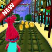 subway troll run icon