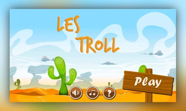 subway troll run poster