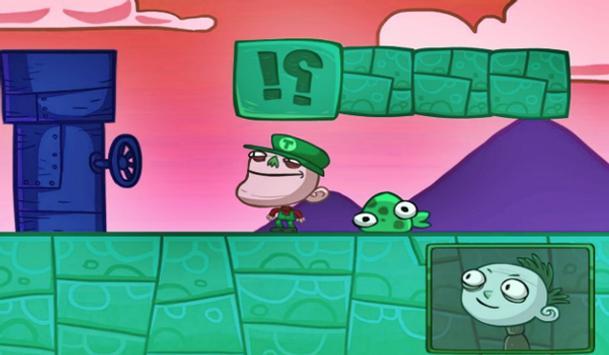 Troll Face TV Star Quest screenshot 2