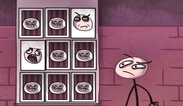 Troll Face TV Star Quest screenshot 3