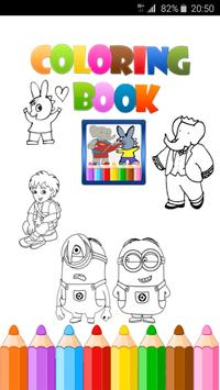 Kids Cartoons Coloring Book For Android Apk Download