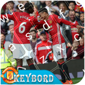 Keyboard themes for  Manchester united  icon