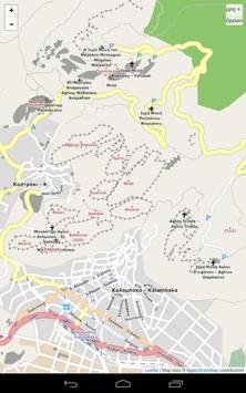 Map of Meteora apk screenshot