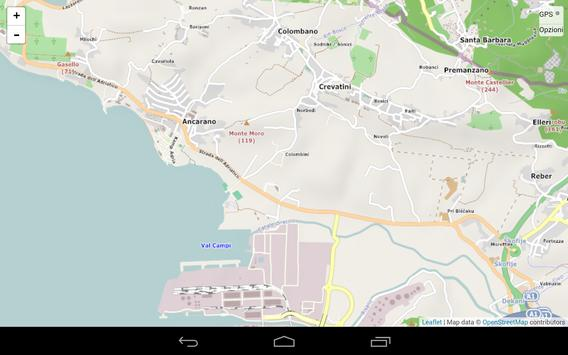Map of Capodistria screenshot 3