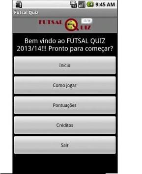 FutsalQuiz poster