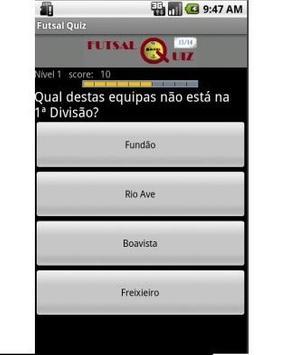FutsalQuiz apk screenshot