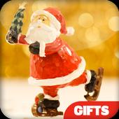 Christmas gift list and Tshirt icon