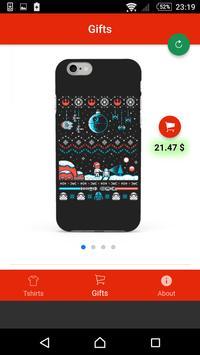 Christmas gift list and Tshirt screenshot 3