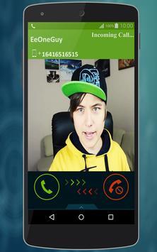 Fake Call EeOneGuy (Joke) screenshot 2