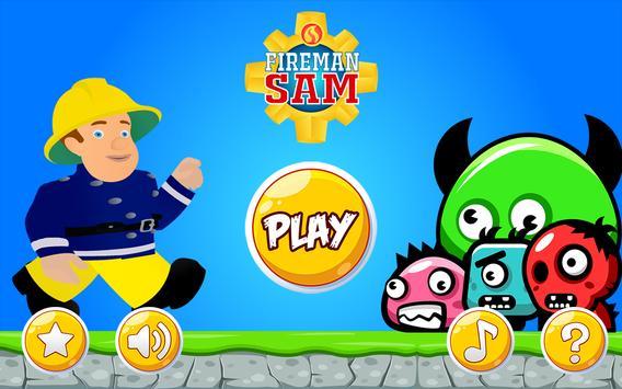 Super Fireman Sam games poster
