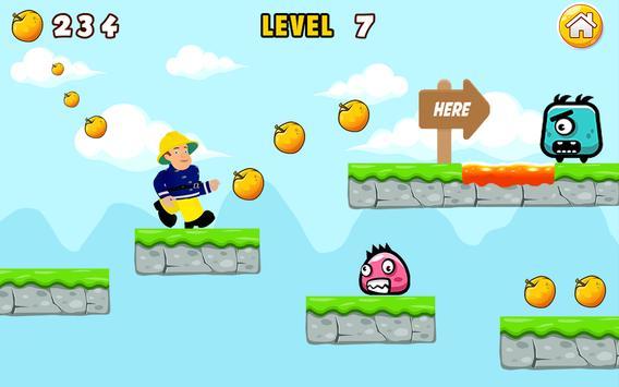 Super Fireman Sam games apk screenshot