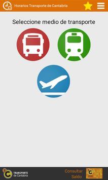 Horarios Transporte Cantabria poster