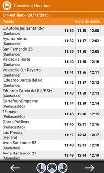 Horarios Transporte Cantabria screenshot 2