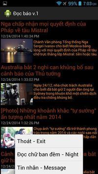 Vietnam Online News apk screenshot