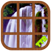 Waterfall Sliding Puzzle icon