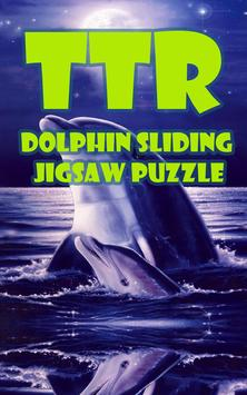Dolphin Sliding Puzzle poster