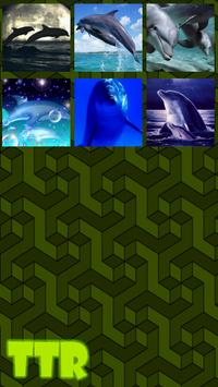 Dolphin Sliding Puzzle screenshot 2