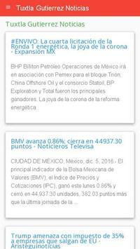 Noticias Tuxtla Gutiérrez apk screenshot