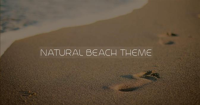 Beach Theme and Launcher apk screenshot