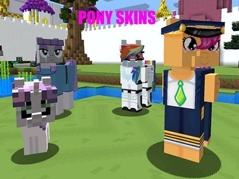MineLittle Pony Mod for MCPE apk screenshot