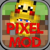 Pixel Mod for Minecraft PE icon