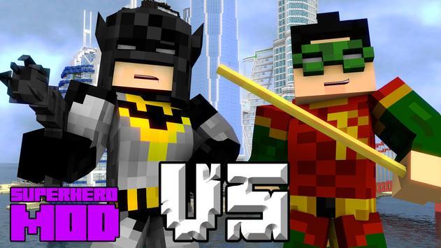 Superhero Mod for Minecraft PE apk screenshot