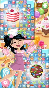 Cake Story - Match 3 Puzzle poster