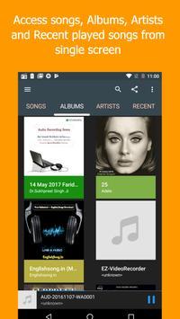 Di Music player - Mp3 music player, Audio player screenshot 4