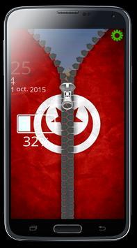 Tunisia Zipper Verrouillage apk screenshot