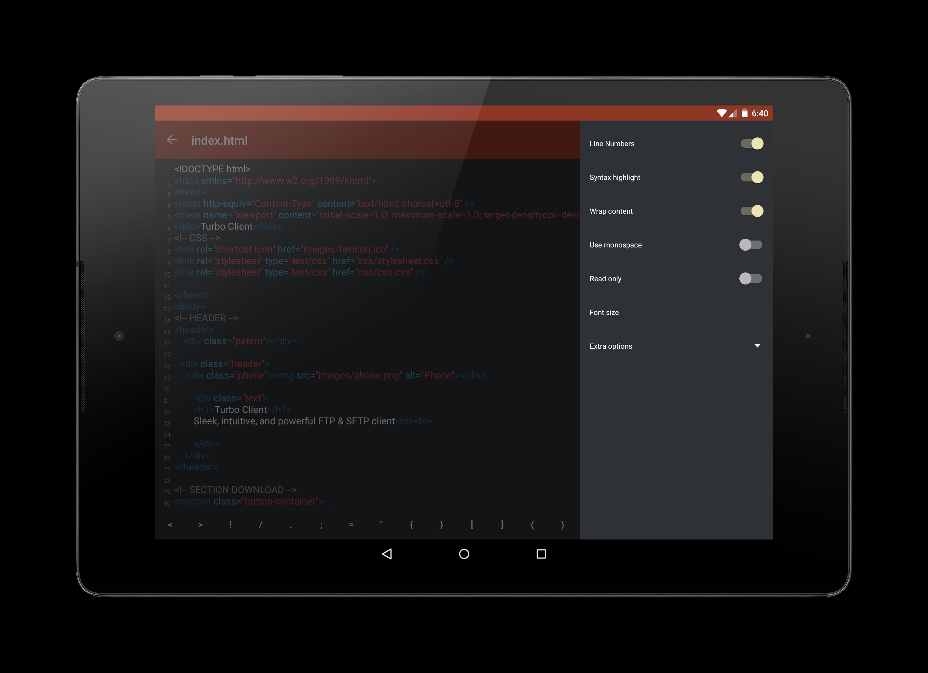 Turbo FTP client & SFTP client for Android - APK Download